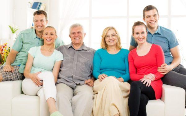 Объединение семьи за границей