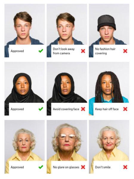 Требования к фото на паспорт
