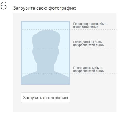 Требования к фото