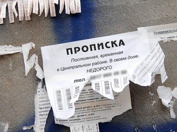 Фиктивная прописка иностранца в РФ