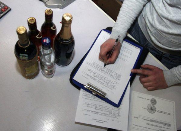 Ввоз алкоголя в РФ