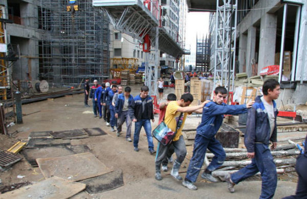 Нелегальные рабочие