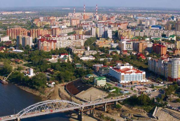 Тюмень - крупный город России