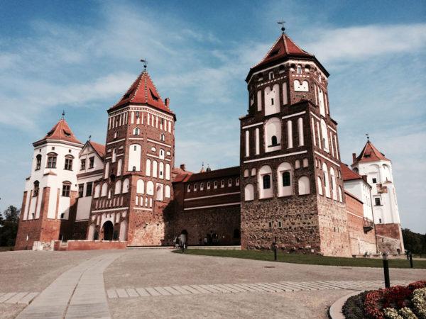 Мирской замок в Беларусии