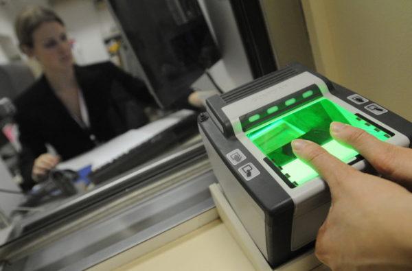 Биометрия для визы