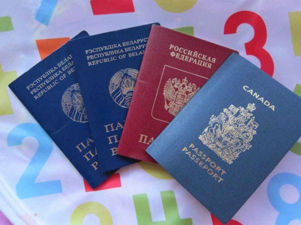 Подача уведомления у втором гражданстве