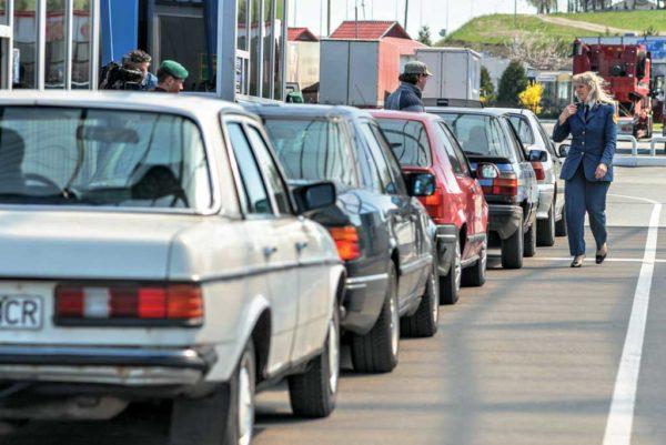Пересечение российской границы на машине