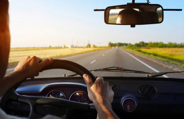 Езда на автомобиле