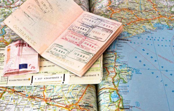 Пропуск на посещение страны