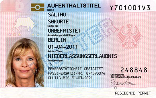 ВНЖ в Германии