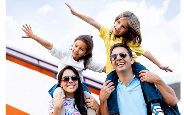 Поездка с детьми